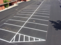 line striping & seal coating